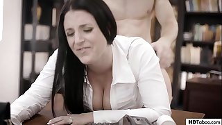 Get the pound out off my office! - Angela White - PURETABOO