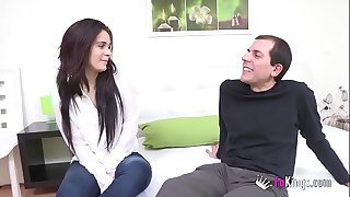 A preppie girl from cordoba and a candidate to porn performer will meet and fuck in a fresh blind date