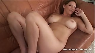 Hot big tit mom sucks and pounds her sons friend