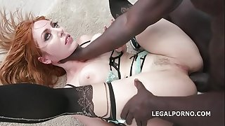 Blackened with Lauren Phillips 4BWC   4BBC equals double action with balls deep anal, big gapes, DAP, swallow GIO829