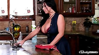 Busty lezzies Alison Tyler & Sheridan Love provide some curvaceous satisfaction