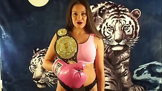 KING of INTERGENDER SPORTS SILVANA VS Guy IN MIXED PUNCHING MATCH UIWP Refreshment