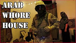 TOUR OF Ass - American Soldiers Slinging Dick In An Arab Whorehouse