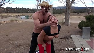 TOUGHLOVEX Davina Davis is a good submissive slut