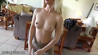 Bella Rose fucks and deep-throats you in paradise
