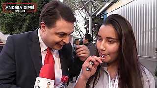 Strange flick of a mexican girl with Andrea Dipre